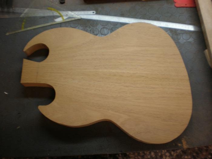 La Escuela del Tono: Construyendo mi propia guitarra eléctrica ...