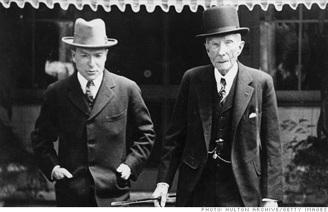 rockefeller and rithschild