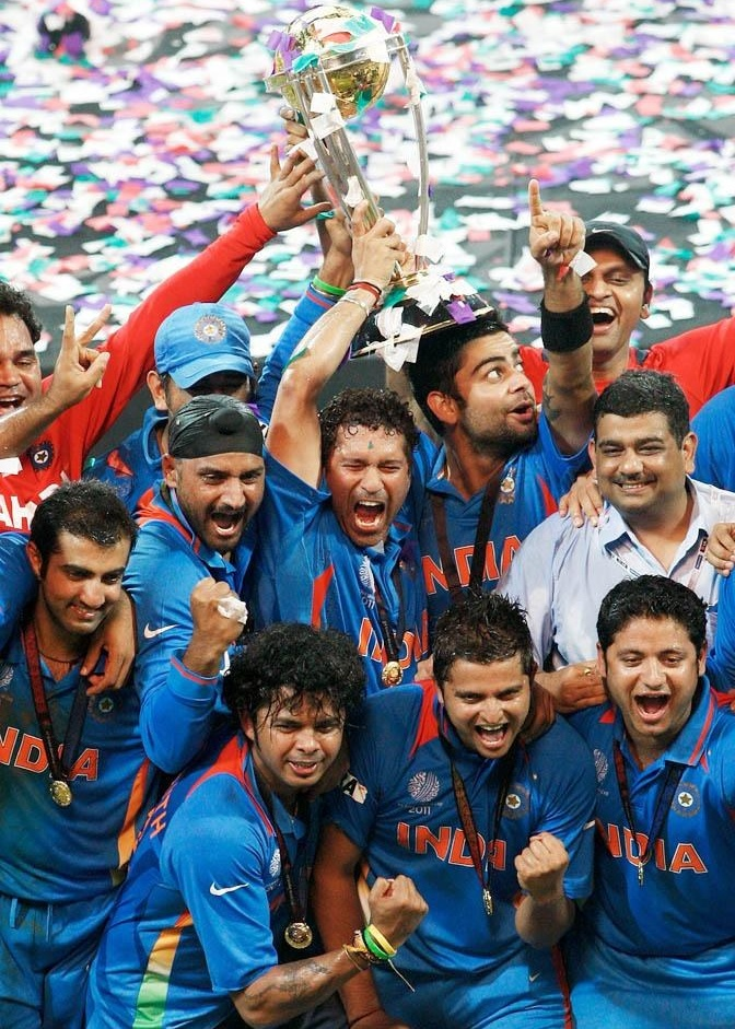 world cup 2011 final moments. icc world cup final 2011