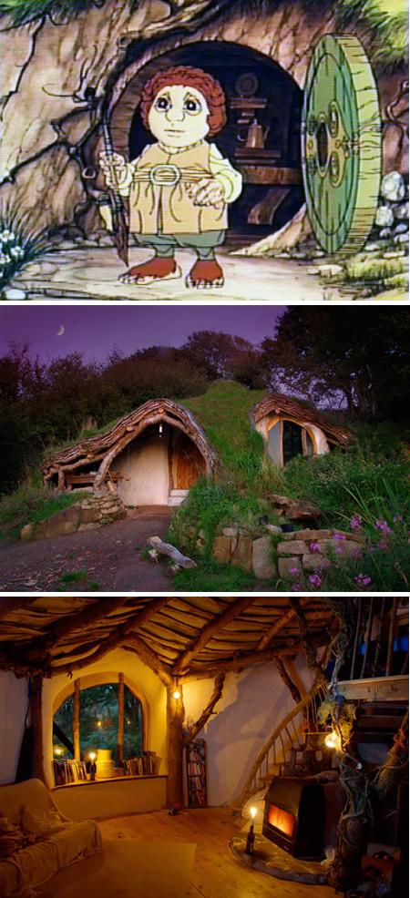 Una ventana al mundo 10 casas inspiradas en dibujos animados - La casa de los hobbits ...
