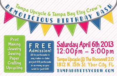 Tampa Upcycle, Tampa Bay Etsy Crew, TBEC
