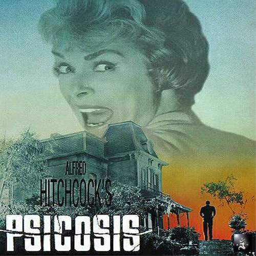 Cartel de Psicosis, de Alfred_Hitchcock para nuestro hitos_del_cine. Revista Making Of