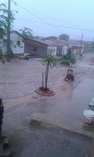 Chove nesta segunda em Nova Palmeira; volume em janeiro já é o maior desde 2008