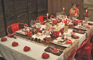 Mesas Navideñas, Decoración
