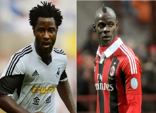 Player Comparison: Wilfried Bony vs Mario Balotelli