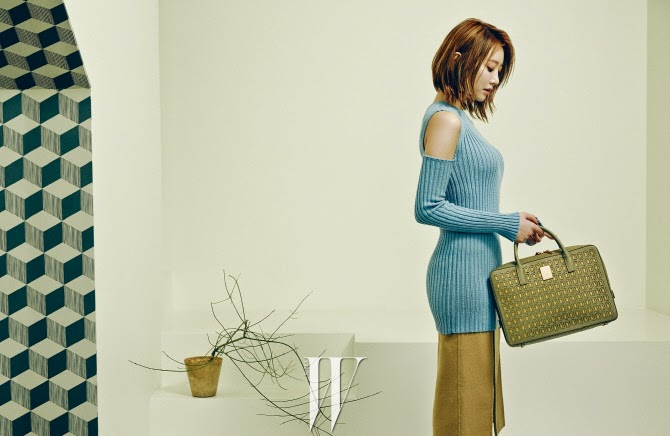 Go Joon Hee - W Magazine December Issue 2014
