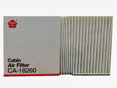 Cabin Air Filter - Filter AC Nissan March, Almera
