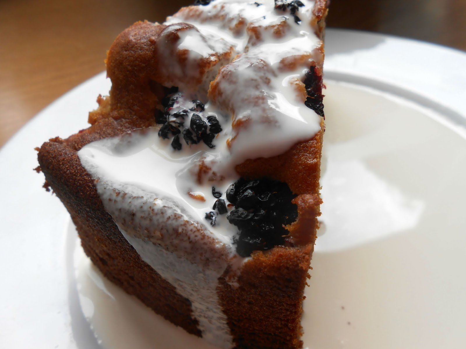 Blackberry and Honey Cake - Gluten-Free Recipe