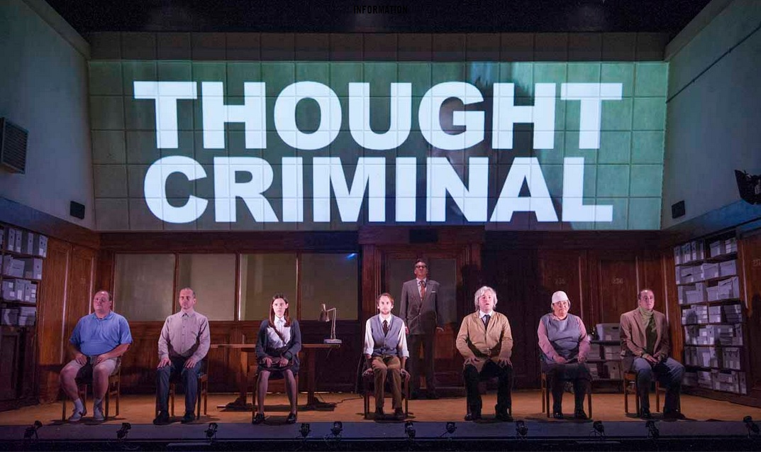 Review: 1984, Almeida Theatre