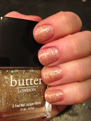butter LONDON, butter LONDON Tart With A Heart, nail polish, nail varnish, nail lacquer, manicure, mani monday, #manimonday, nails