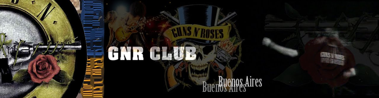 GUNS N' ROSES Club Gunner Bs As