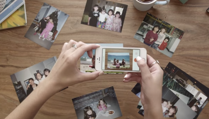 Heirloom,Pic Scanner,convert images to print digital images on the iPhone and Android devices