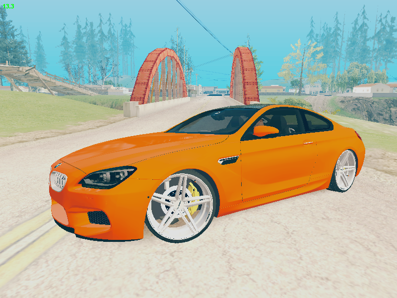 GTA SA - BMW M6 Coupe VOSSEN Wheels