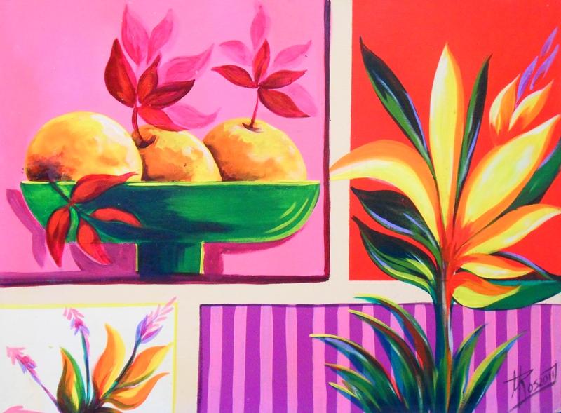 Im genes arte pinturas arte en bodeg n moderno pintado - Lo ultimo en cuadros modernos ...