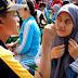 Penyegaran Jelang Pengamanan Pilpres, Polres Gelar Lomba Rias Wajah