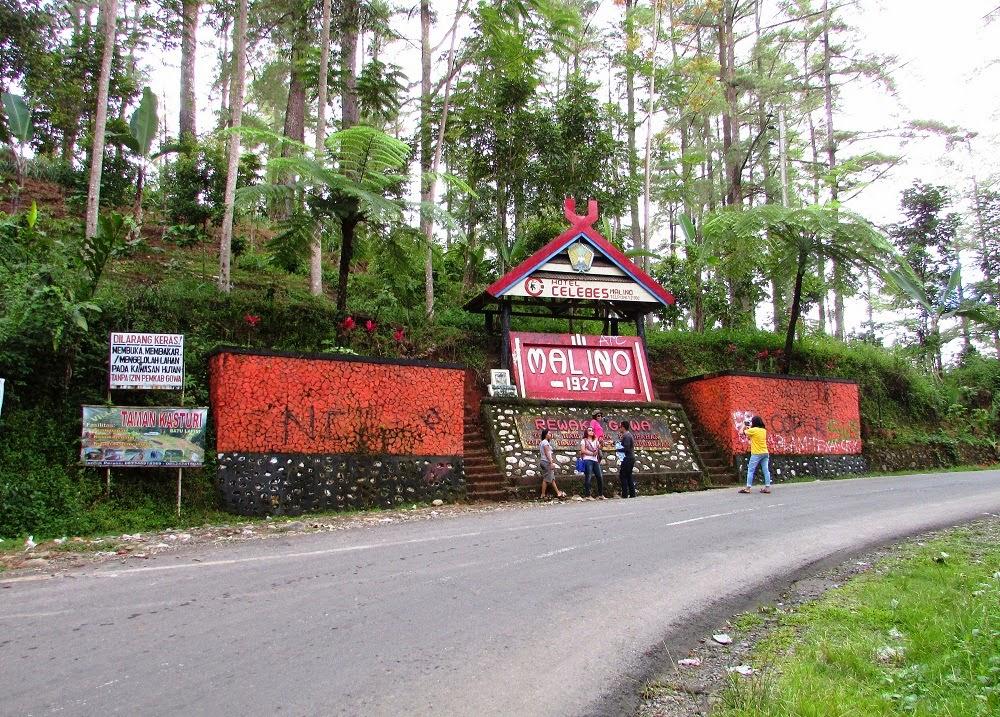 Foto Monumen di Malino Gowa
