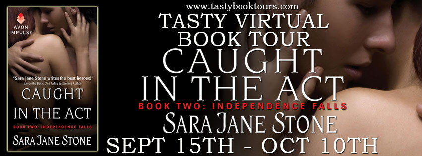 Blog Tour: Spotlight + Giveaway – Caught in the Act by Sara Jane Stone