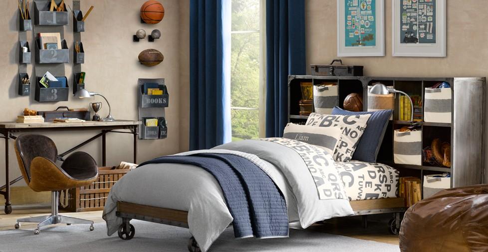 camera da letto industrial: da letto moderne camera moderna con ... - Camera Da Letto Industrial