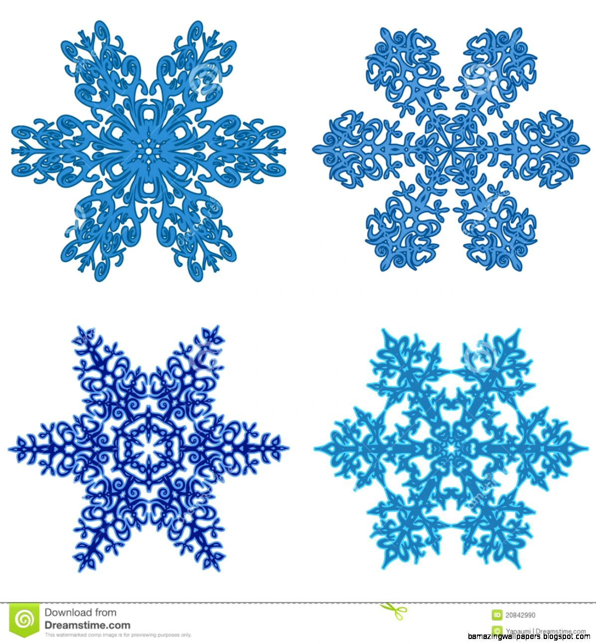 Snowflake Clipart   Clipart Kid
