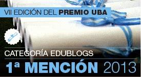 Mencion Premio UBA 2013