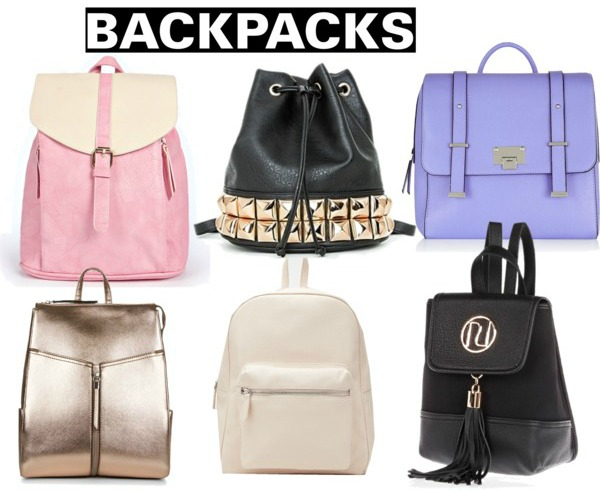 Spring/Summer 2015 Fashion Essentials backpacks rucksacks