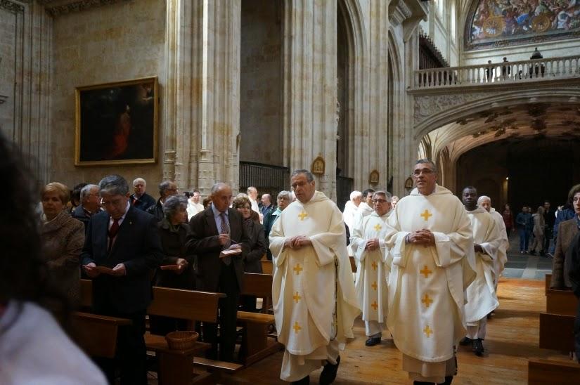 Desde estas humildes páginas damos la enhorabuena a Fray Gregorio y Fr. Bernardo.