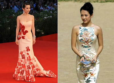 Chinese star Li Bing Bing wears Guo Pei