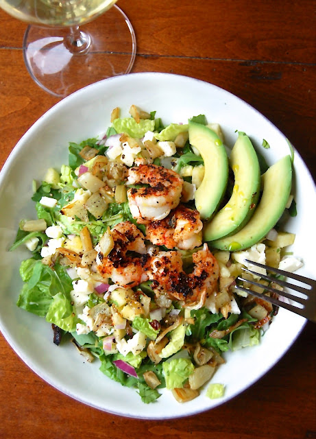 Shrimp and Fennel Salad | www.kettlercuisine.com