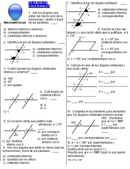 Ejercicios Geometria Parte 2 Geometria Parte 2