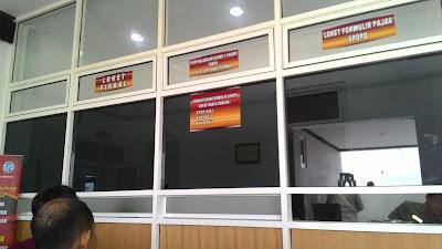Kantor SAMSAT Kabupaten Pati Yang Baru