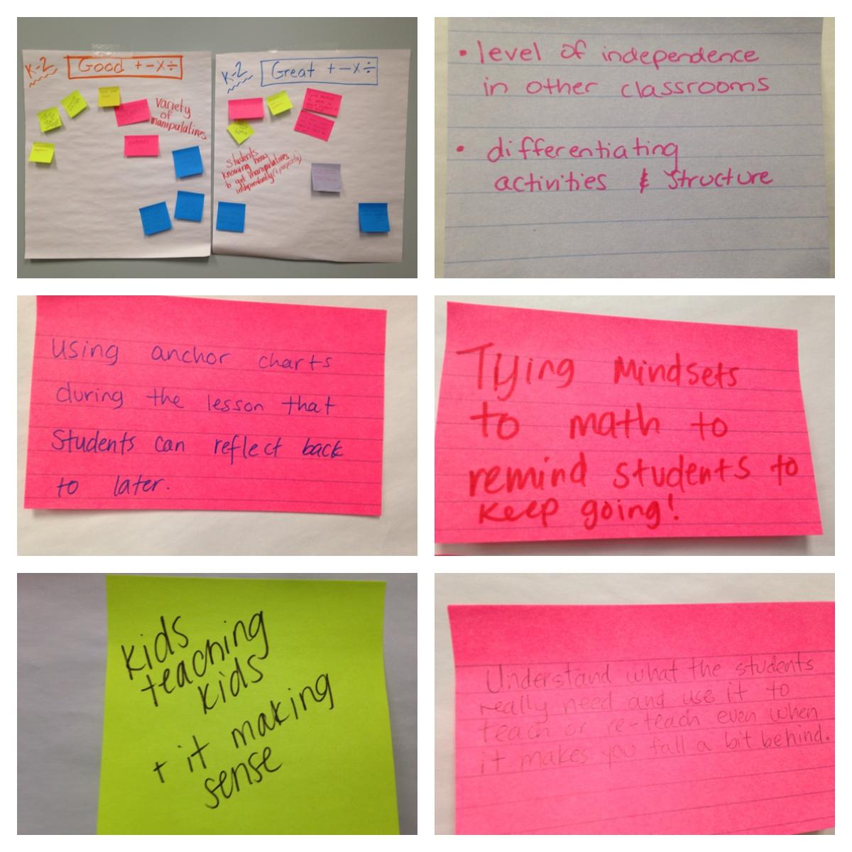 Responsive Literacy: Math Focus Walks