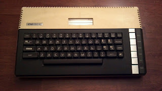 atari 800xl with keyboard from the 1980s
