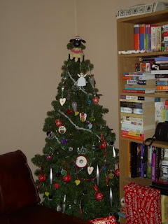 Christmas tree with Shaun the Sheep