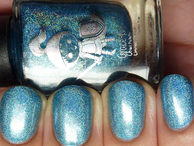 Grace-full Nail Polish Knight Silver Lake