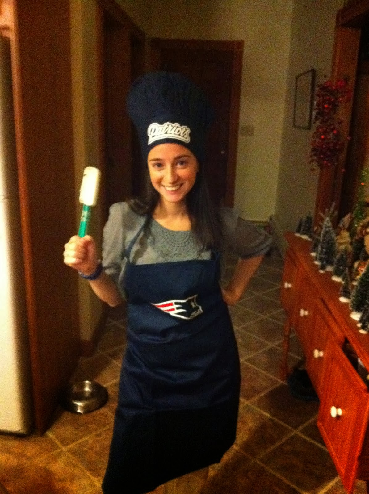 Don't be fooled... love the spatula, hate the Patriots!