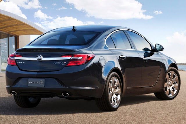 New 2015 Power Buick Regal Performance back view