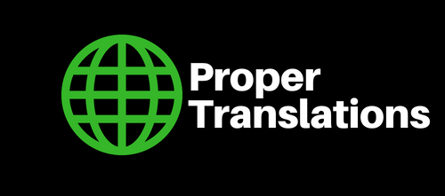 Proper Translations