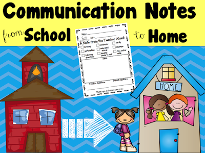 https://www.teacherspayteachers.com/Product/Communication-Notes-2058945
