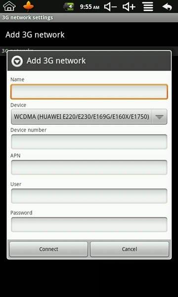Info Teknologi Terbaru Cara Seting Modem Di Tablet