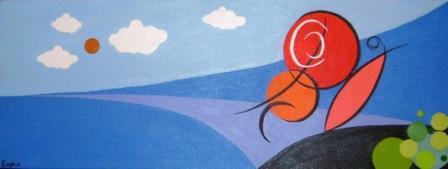 Eugênio Braga, Dia Internacional da Família, Pintura Abstracta