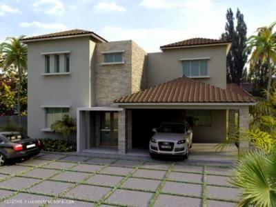 Fachadas de casas modernas febrero 2014 for Fachada de casas modernas con tejas