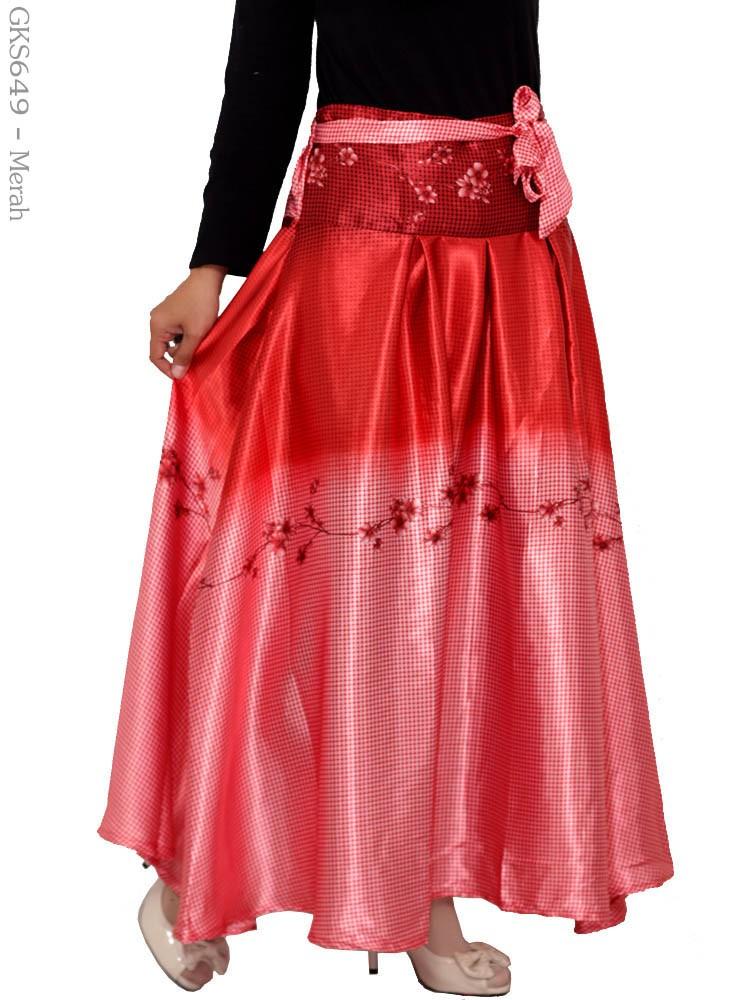 model rok panjang cantik muslimah