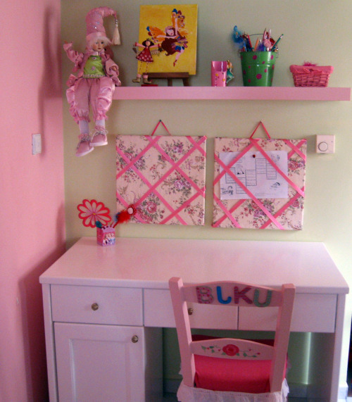 how to make a wall into a bulletin board