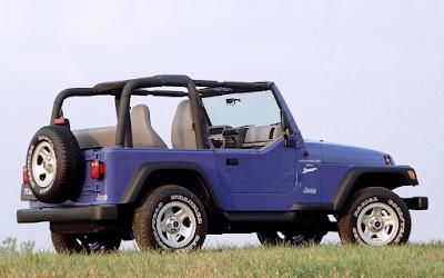 1997 Jeep Wrangler blue