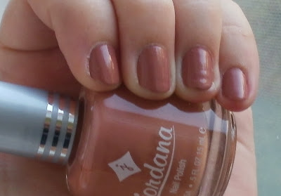 Jordana Dusty Rose nail polish