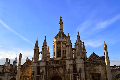 King's College, Cambridge, University, day trip, day out, visit, UK, tourism, architecture, building, spires