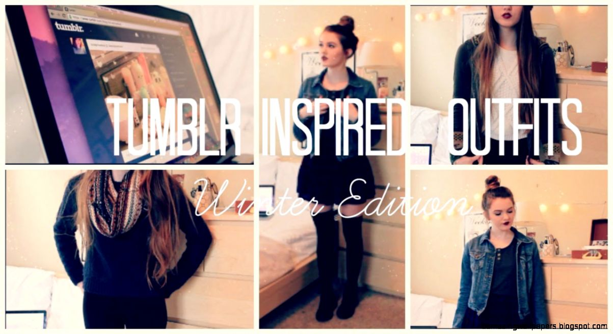 Tumblr Inspired Winter Outfits   YouTube
