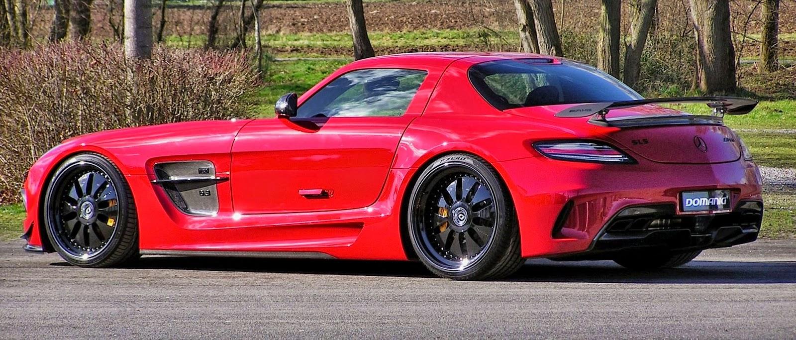 Mercedes benz sls amg black series by domanig benztuning for Mercedes benz sls amg red