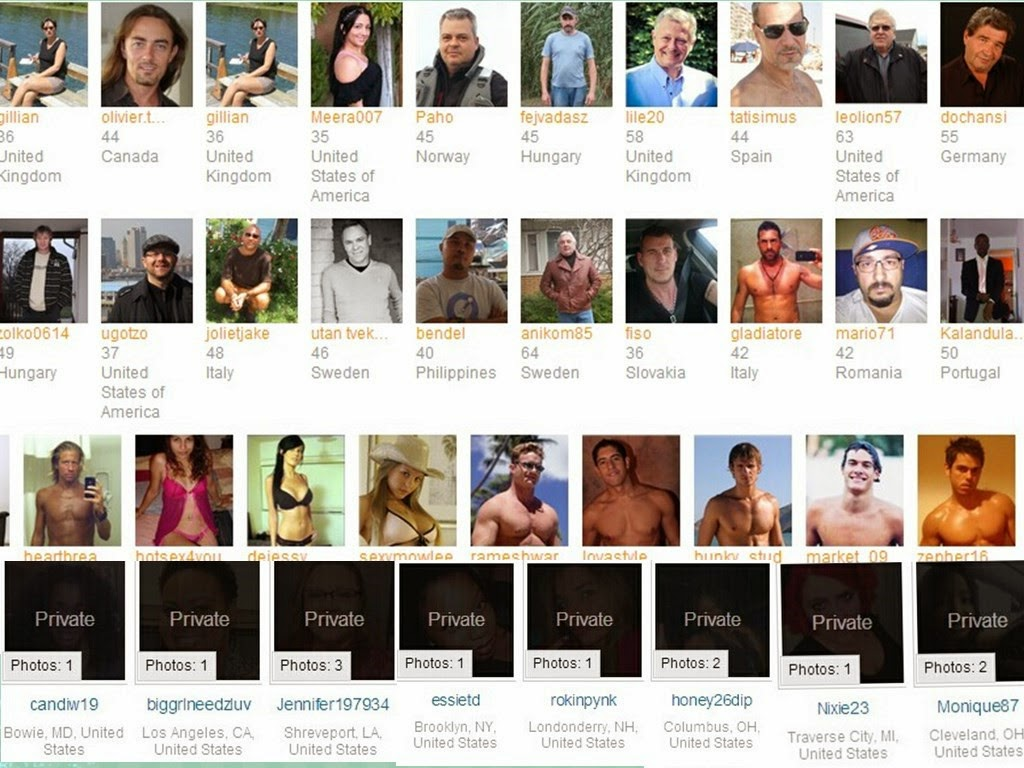 celebrities use dating sites