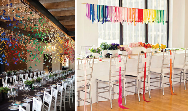 wedding trends over the rainbow belle the magazine. Black Bedroom Furniture Sets. Home Design Ideas